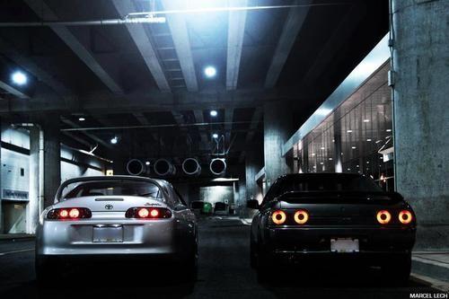 The Finer Things In Life Nissan Skyline Gtr R32 Toyota Supra Mk4 Supra