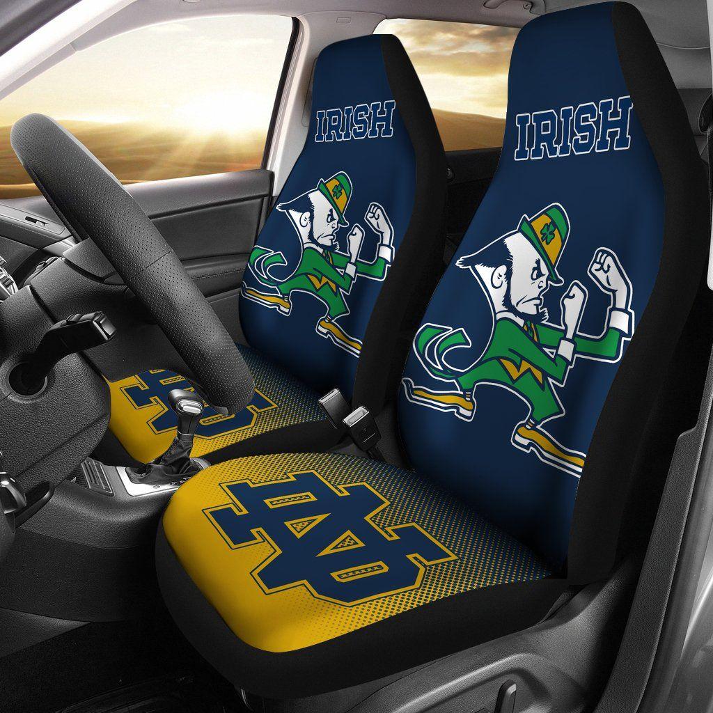 New Fashion Fantastic Notre Dame Fighting Irish Car Seat