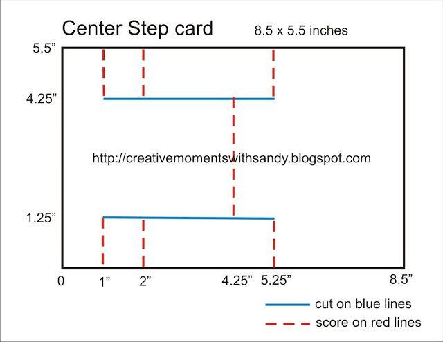 Center Step Card Med Billeder Kort Ideer Kort Vejledninger