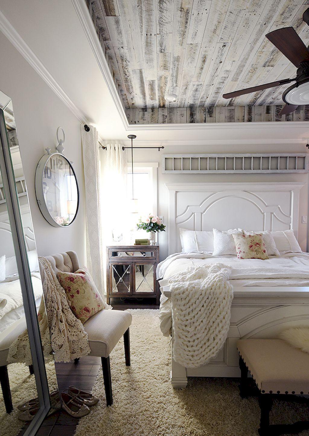45 Farmhouse Style Master Bedroom Ideas | Chambre de, Maîtresse et ...