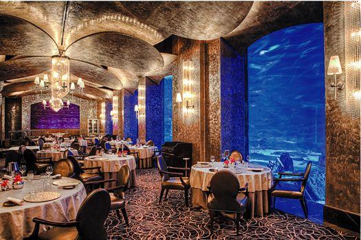 Ossiano The Atlantis Dubai Luxury Dining Places Dubai