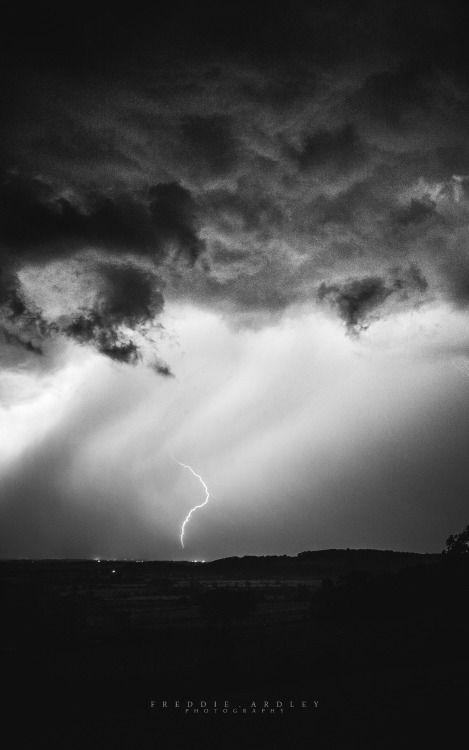 'Storm Beyond a Valley, Gloucestershire' By Freddie Ardley Photography - Follow on: Facebook Twitter Instagram