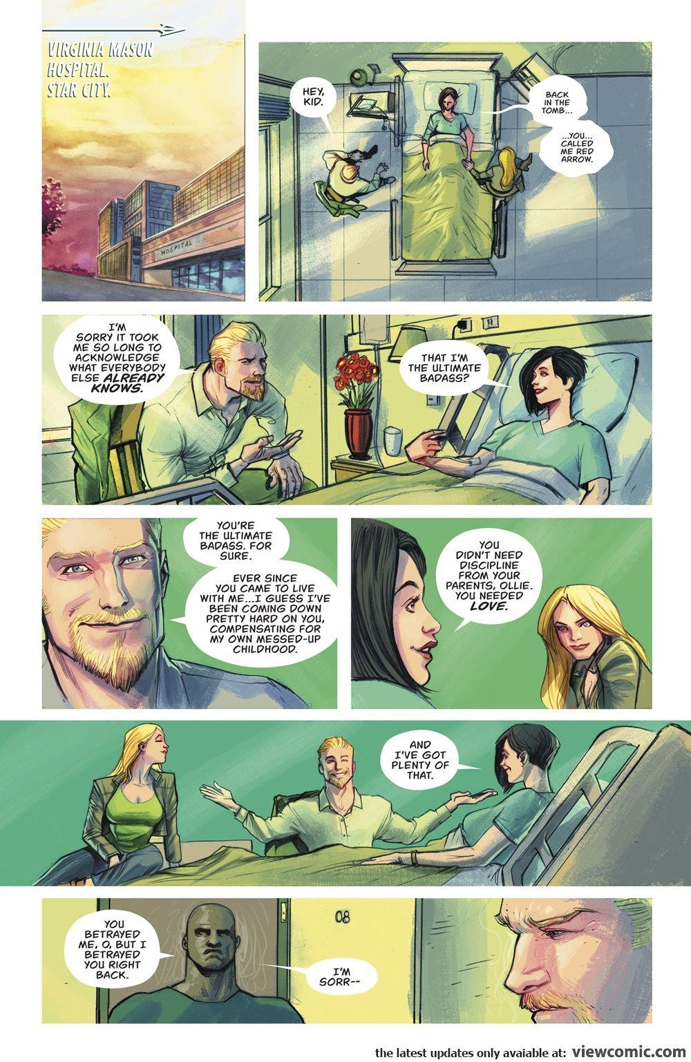 Green Arrow v7 037 (2018) ………………………… | View Comic | Green