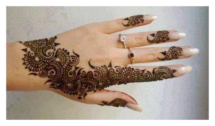 Latest Mehndi Design Beautiful Mehndi Designs : Dark shade mehndi designs eidmehndidesign