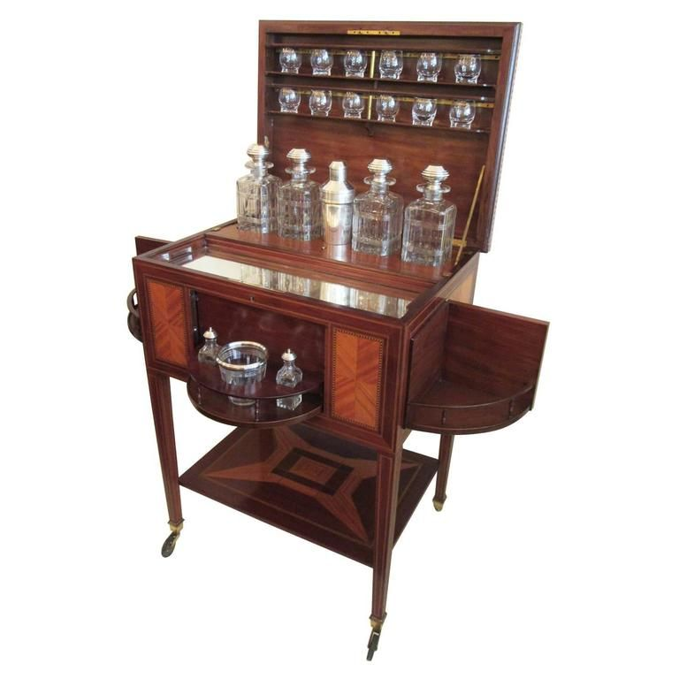 19th C French Art Deco Drinks Cabinet by Maison Boin-Taburet - 19th C French Art Deco Drinks Cabinet By Maison Boin-Taburet