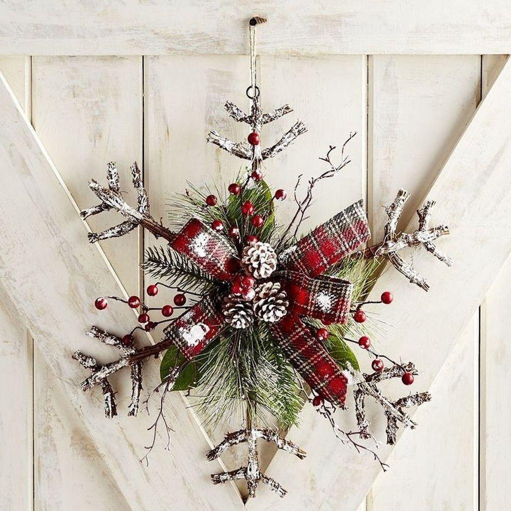 Photo of Totally Inspiring Winter Door Decoration Ideas 16