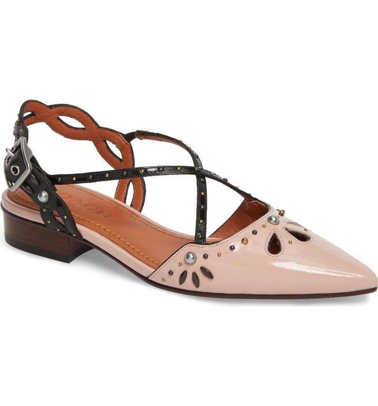 Bridal Shoes At Nordstrom: COACH Prairie Rivet Sandal (Women