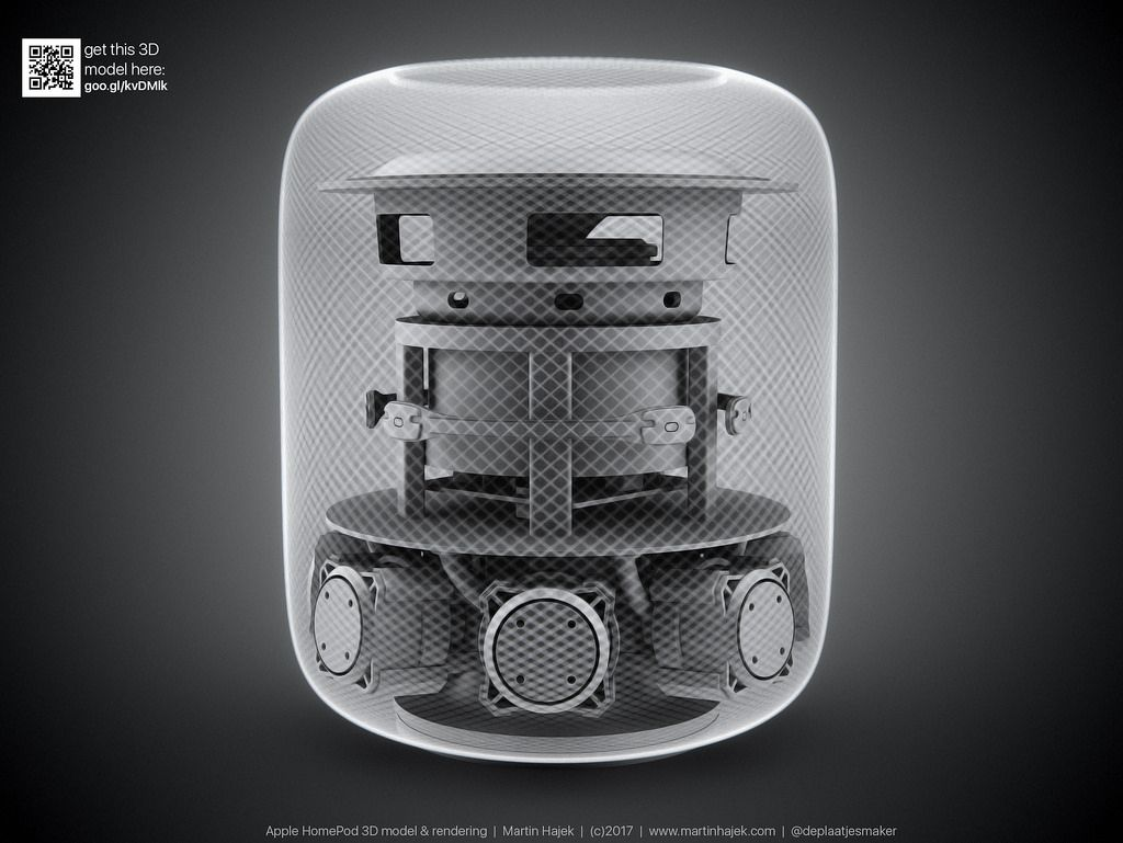 Apple HomePod 3D model (With images) Apple, Smart