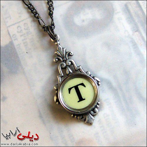 صور حرف T اجمل و احلى صور خلفيات بطاقات رمزيات حرف T بالنار مزخرف فى قلب رومانسية للفيس بوك 2015 Pendant Necklace Accessories Pendant