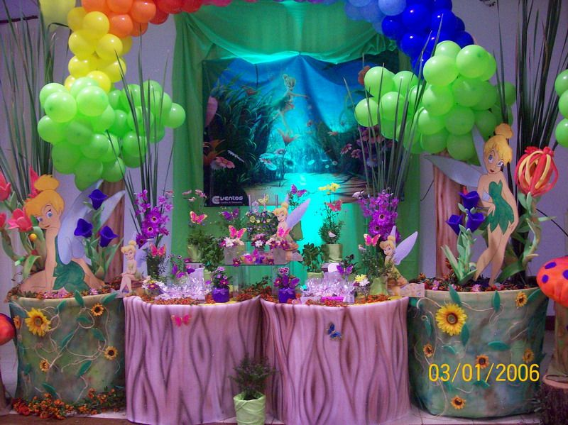 Tinkerbell Decoration  Party decorations, Tinkerbell, Decor