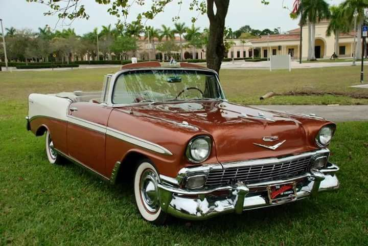 CHEVROLET BEL AIR CONVERTIBLE 1956