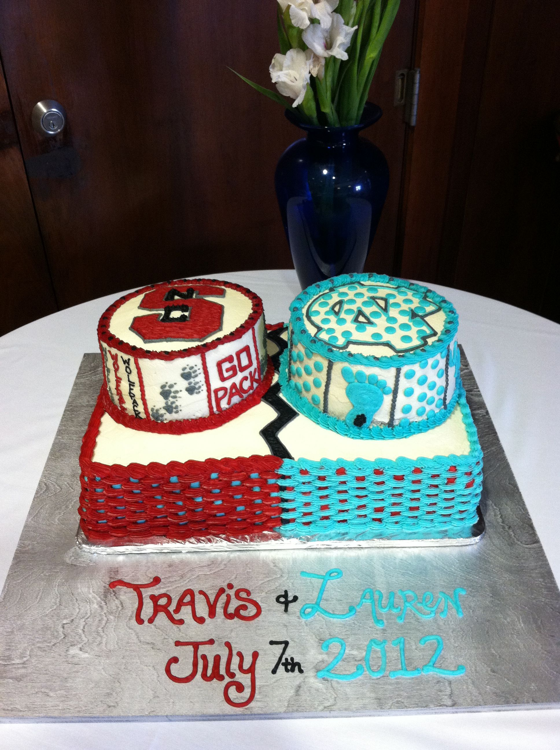 House Divided Grooms Cake Cakepins Com Wedding Ideas In