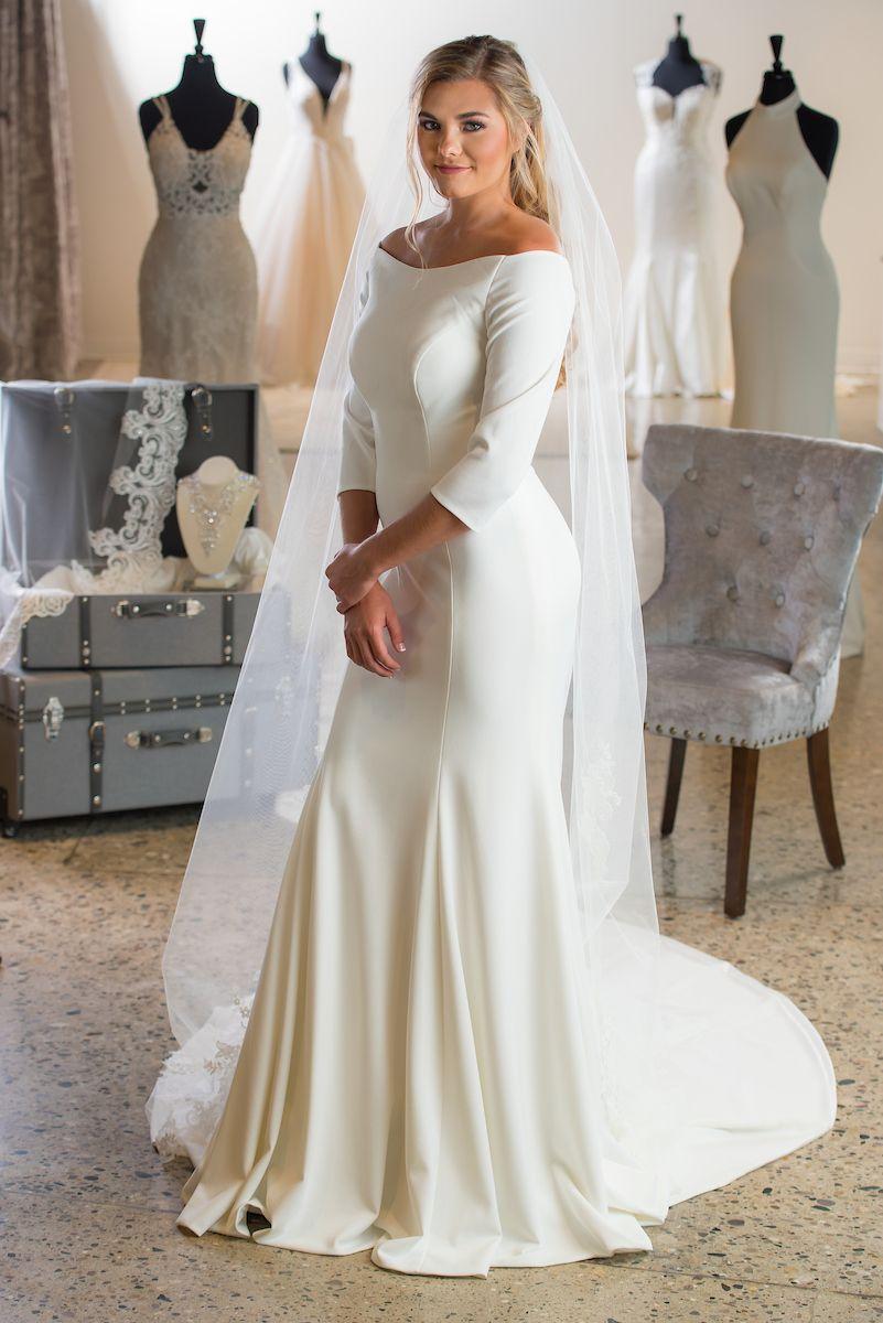 Wedding Dresses The Wedding Shoppe Sleek Wedding Dress Wedding Dresses Unique Wedding Gown Backless