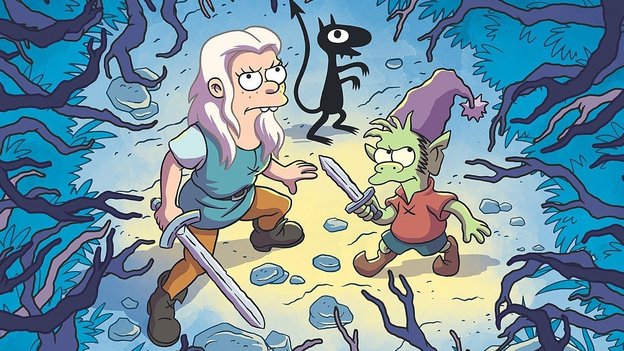 Matt Groening Reveals the Most Important Thing to Know about Disenchantment - Comic Con 2018 - YouTube