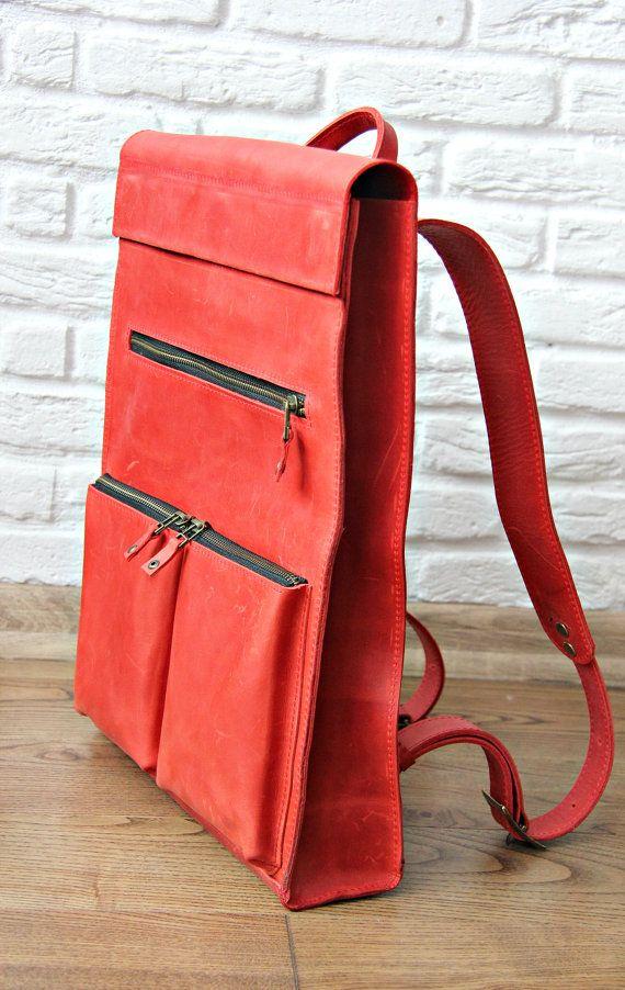 Women laptop backpack laptop backpack slim rucksack by InCarne