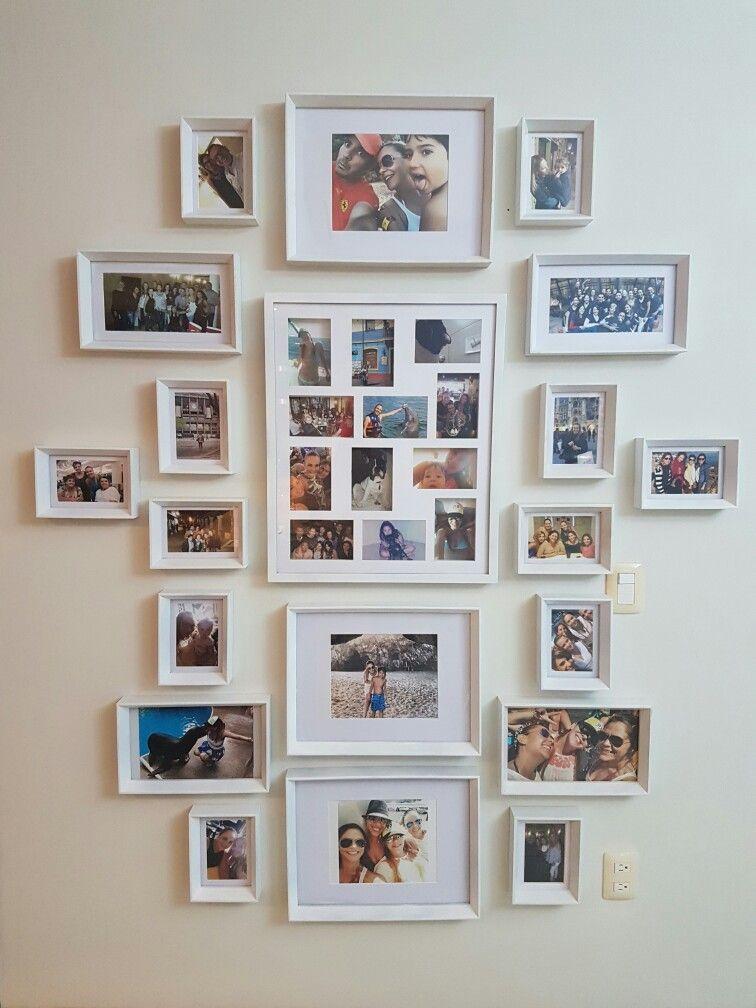 My favorite wall #memories #frames #Costco | decoração | Pinterest ...