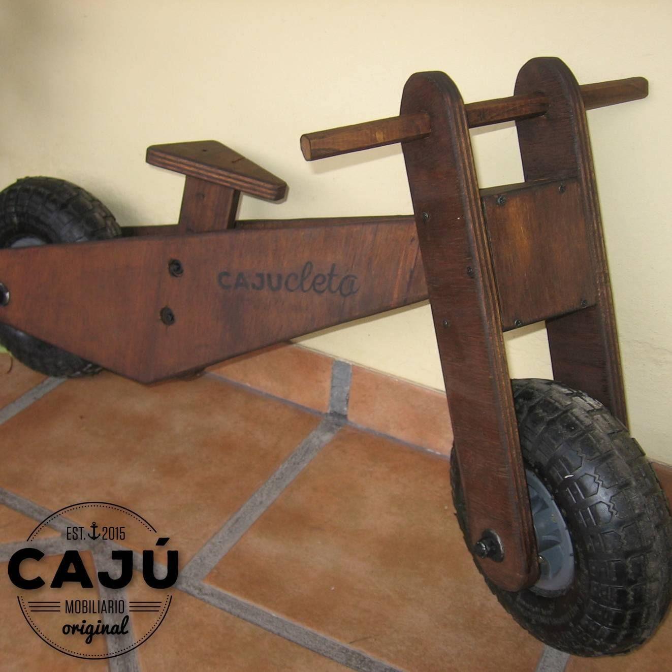 Bicicleta De Madera Para Ni Os Dise O Original Caj Https Www  # Muebles Bicicleta