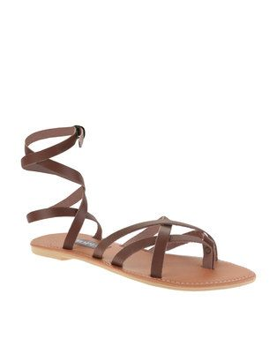5fc1b417d2191 Make that warrior statement with these Ankle Strap Gladiator Sandals by  Utopia. This popular