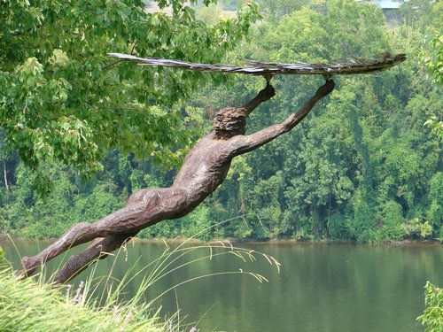 Bluff View Art District, Chattanooga, TN. My favorite statue in the ...