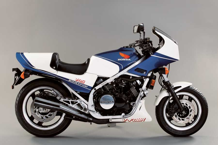 Honda VF 750 F (1983-1985) - Interceptor mit V4-Motor