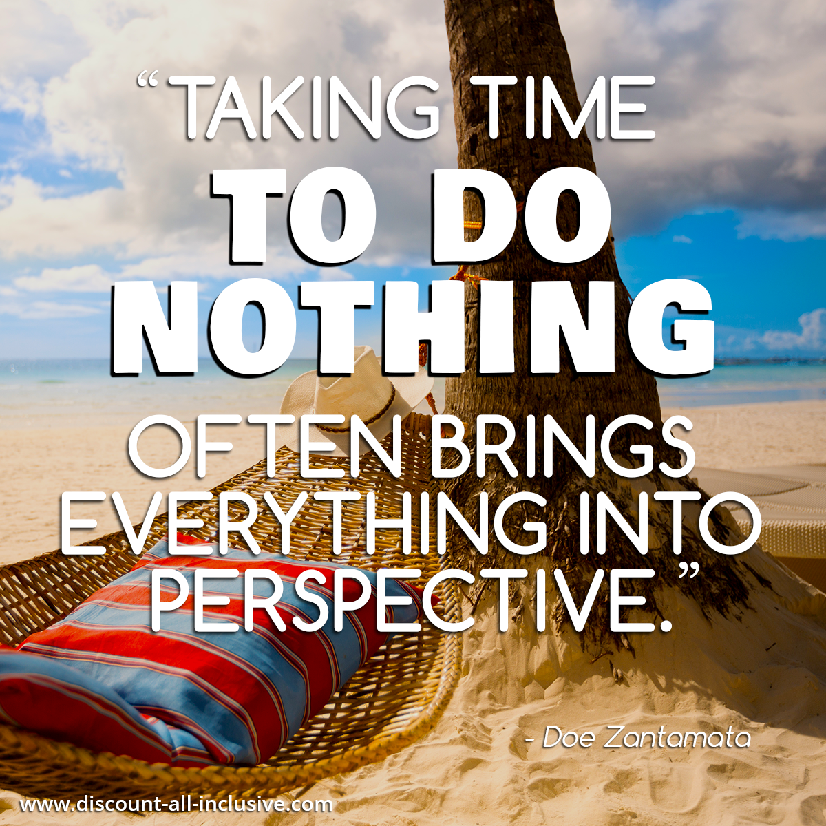 Taking time to do nothing often brings everything into ...