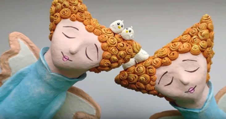 Мастер-класс смотреть онлайн: Делаем декоративных ангелов ...