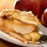 Sour Cream Apple Pie A cup of sour cream added to the filling mixture adds a creamy texture to this pie you won't believe! Calories - 190 Carbohydrates - 20g Fat - 11g Protein - 4g Sodium - 150mg