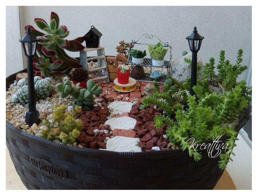 Terrario/mini jardín