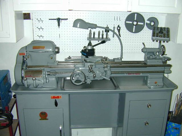 South Bend 9a Toolroom Lathe  Serial 44086nkr9 indicates a