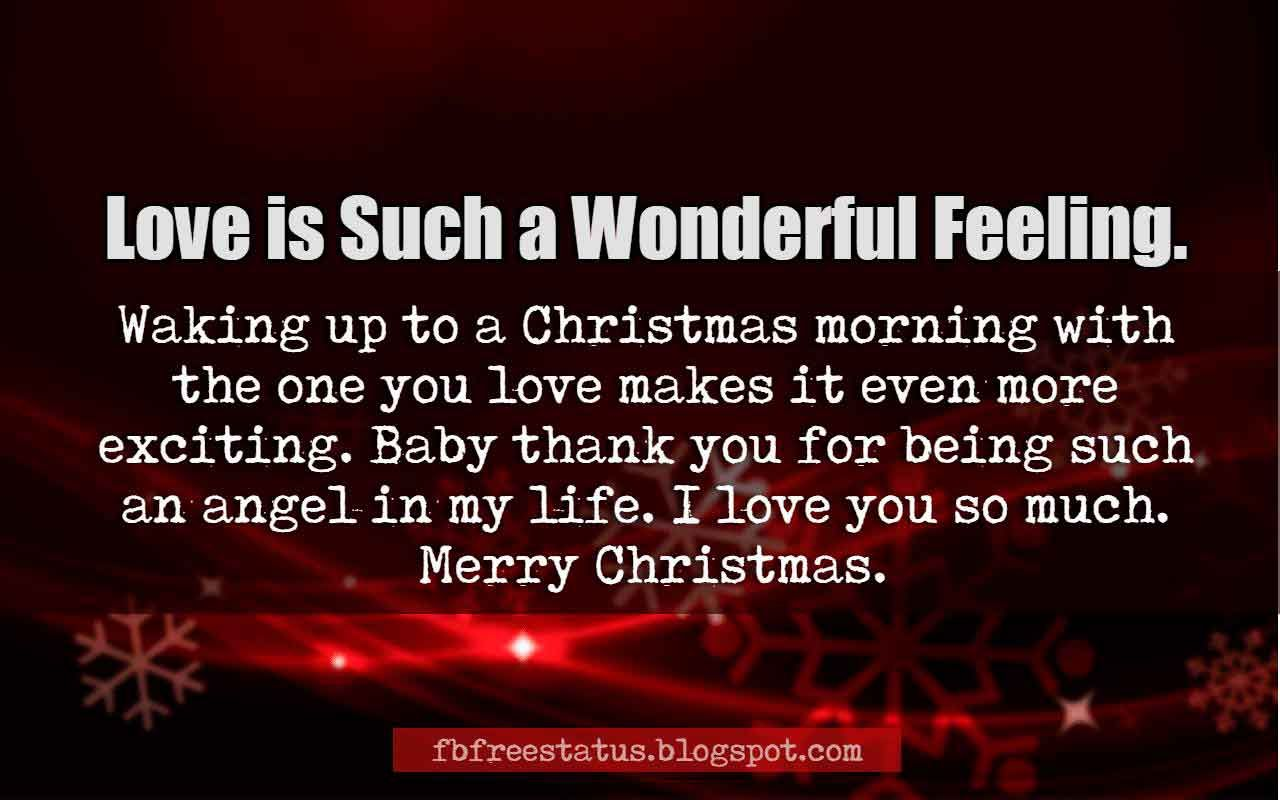 Christmas Love Quotes Adorable Merry Christmas Love Quotes And Christmas Love Messages Images