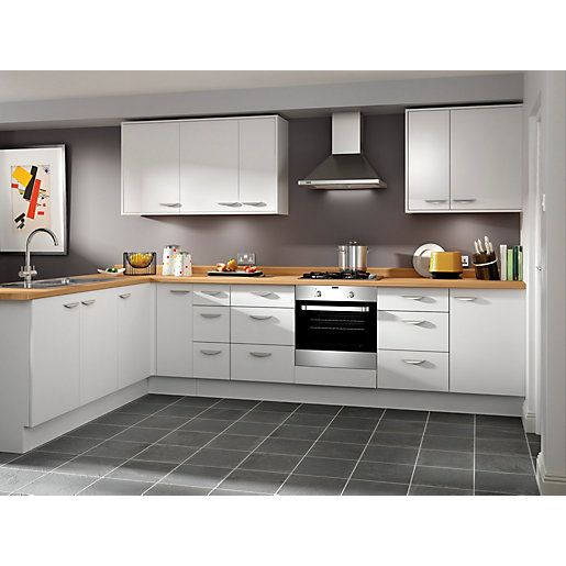Wickes Dakota Base Unit - 300mm | Kitchen design, Kitchens and Walls