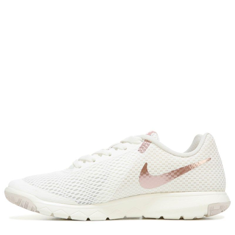 Nike Women s Flex Experience RN 6 Running Shoes (Sail Rose Gold) f9235f4e4