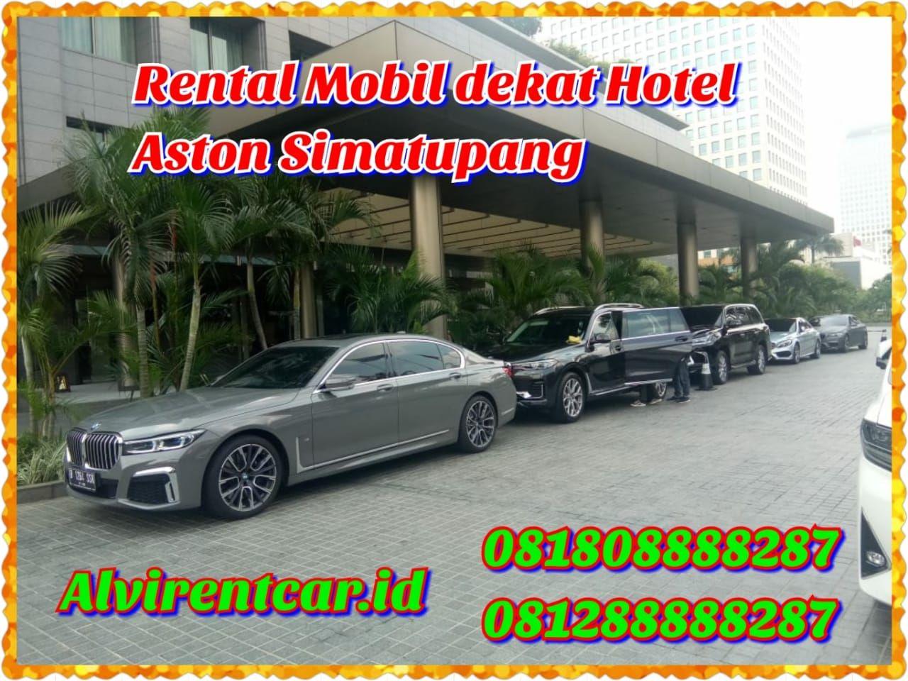 Rental Mobil Dekat Hotel Aston Simatupang Hotel Kendaraan Mobil