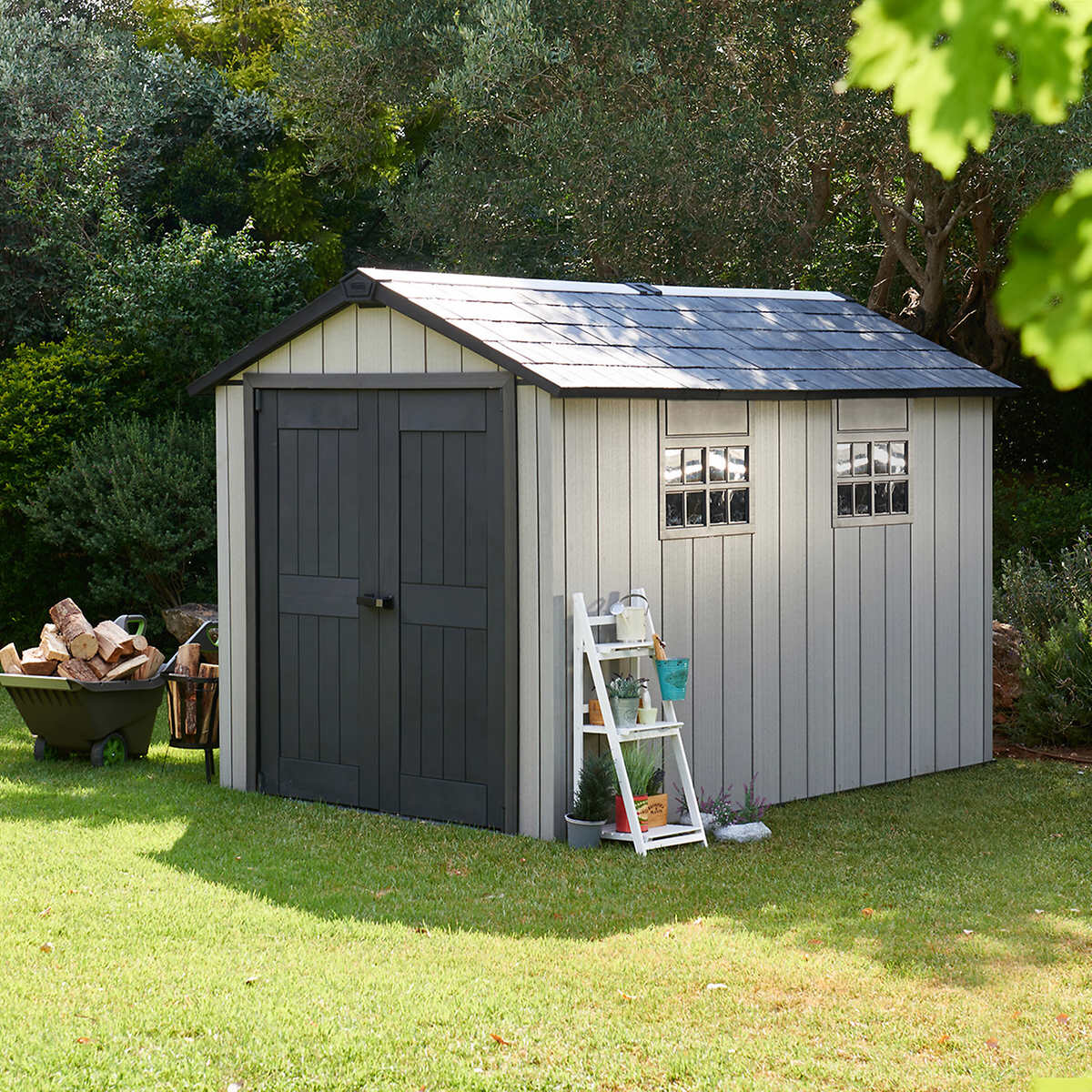Bosmere A056 Double Door Storage Shed