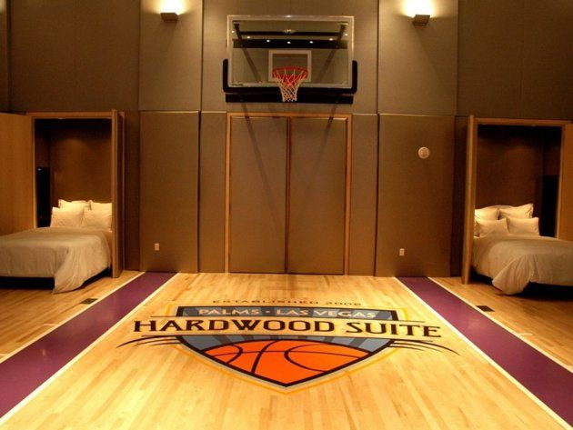 The Suites Where The High Rollers Sleep Basketball Bedroom Basketball Room Basketball Room Decor