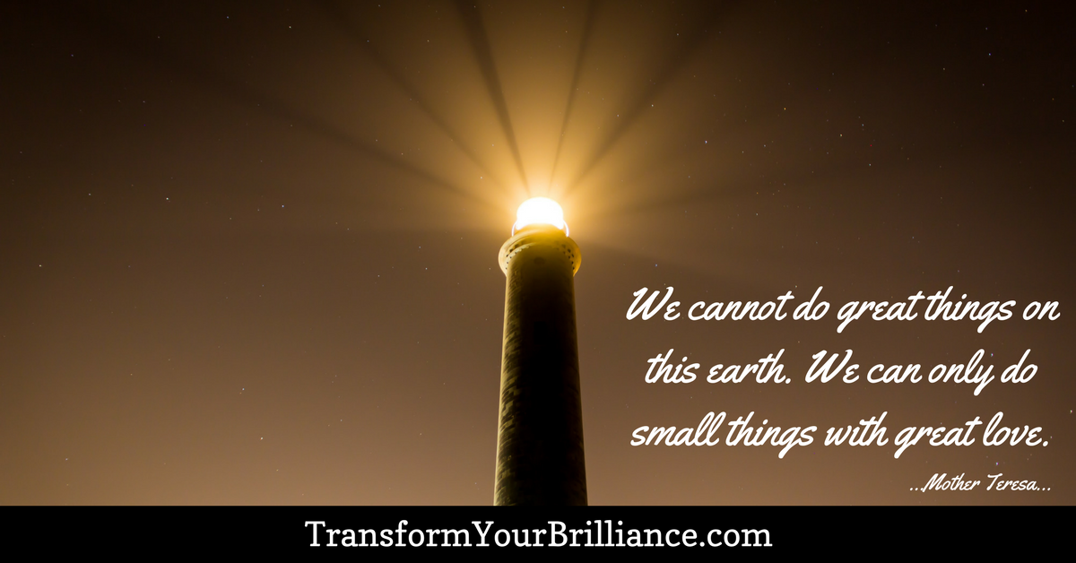 We Cannot Do Great Things On This Earth. We Can Only Do Small Things With ·  Small ThingsMother TeresaInspire QuotesEarthMothersWe