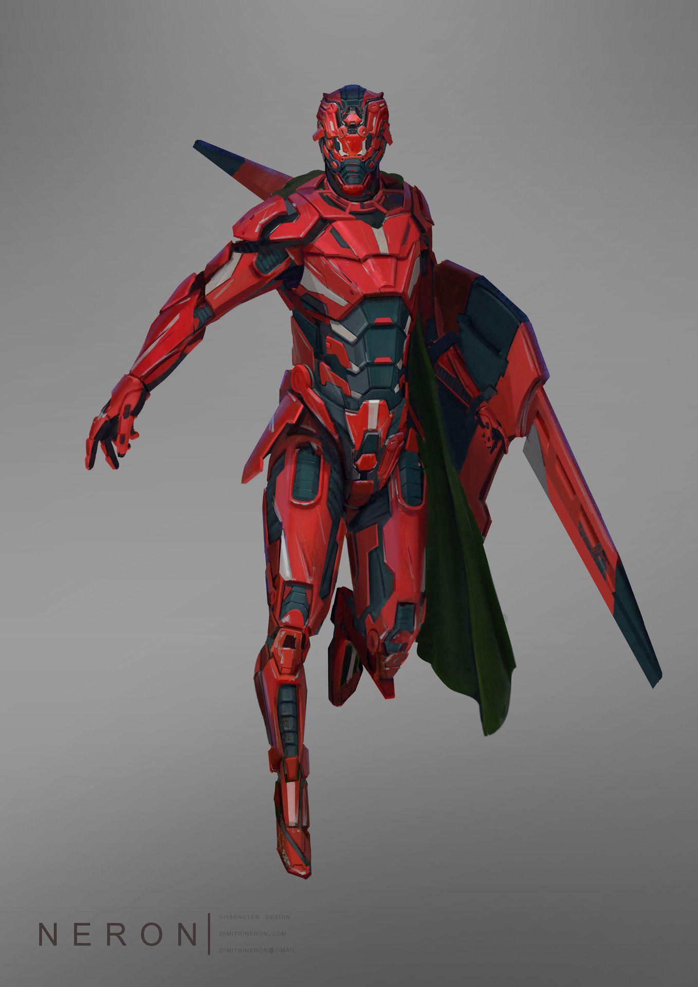 ArtStation - r.E.d, dimitri neron | Fantasy Armor ...