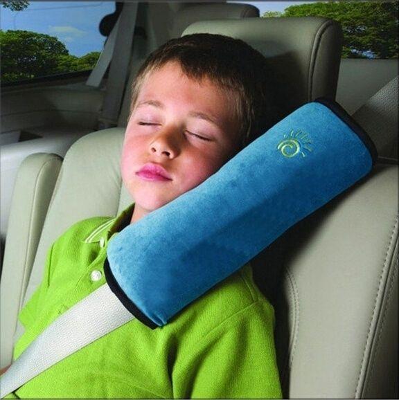 Autos Pillow Car Safety Belt Protect Shoulder Pad Vehicle Seat Belt Cushion For Kids Children