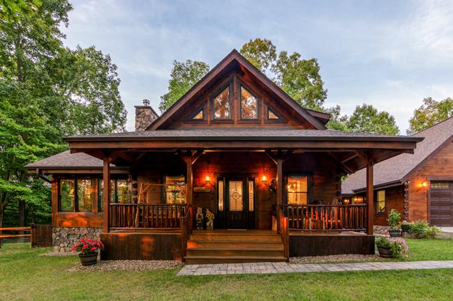Wilson Log Home Floor Plan From Hochstetler Milling Ltd