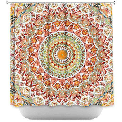 DiaNoche Designs Shower Curtains By Arist Iris Lehnhardt Unique Cool Fun Funky Stylish Decorative Home Decor