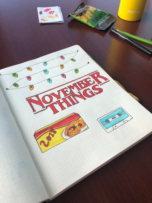 My first journal and my first monthly cover page(: Not my best work art-wise but I am feeling super motivated! : bulletjournal #bulletjournaldecember