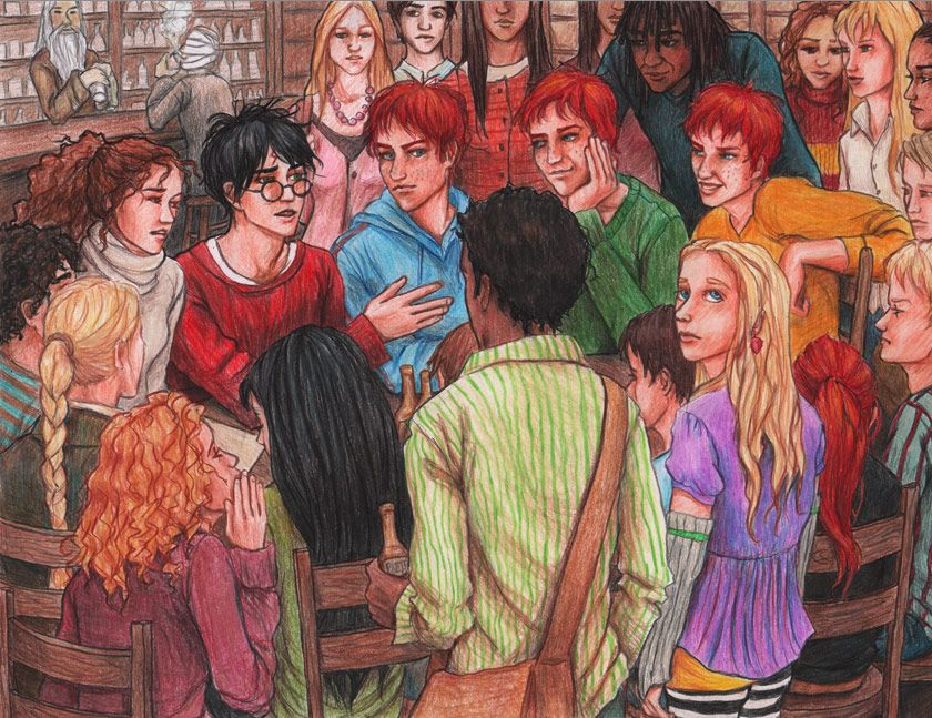 At The Hog S Head Harry Potter Drawings Harry Potter Fan Art Harry Potter Art