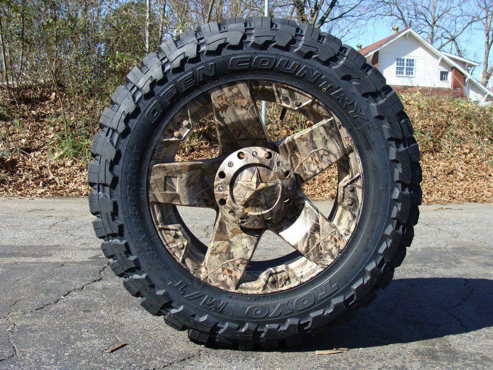 Hydro Dipped Camo Rockstar Wheels Wheels Tires Trucks Camo
