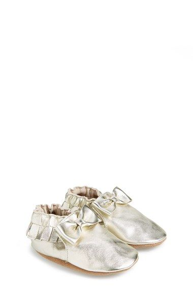 b018b785f88 Robeez®  Maggie Moccasin  Crib Shoe (Baby   Walker) available at  Nordstrom