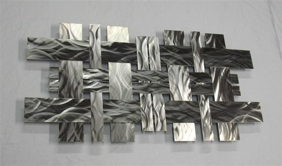 Contemporary Metal Wall Art Sculpture Stainless W2 Richard Walker Contemporary Metal Wall Art Wall Sculpture Art Abstract Metal Wall Art