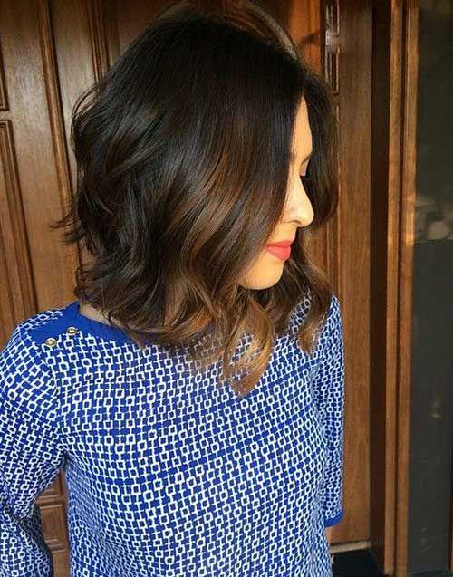Best 25 Highlights For Dark Hair Ideas On Pinterest