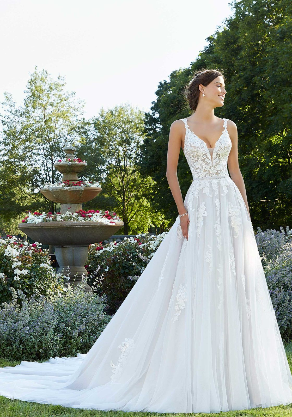 Tulle Bridal Gown In 2020 Discount Wedding Dresses Bridal Gowns Bridal