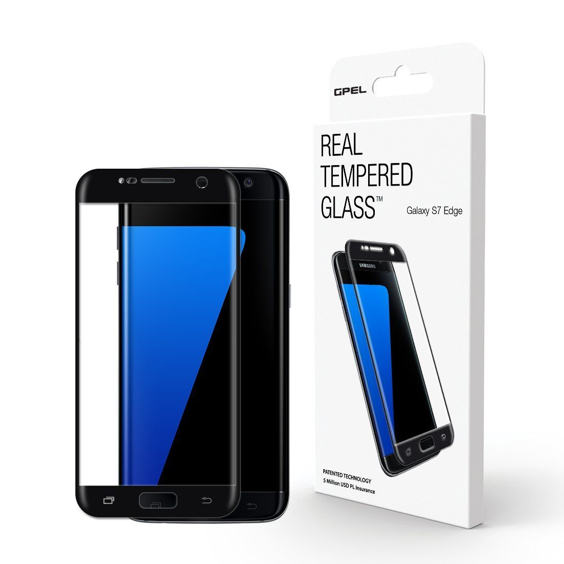 Galaxy S7 Edge Screen Protector Gs7 Edge 3d Curved Full Cover