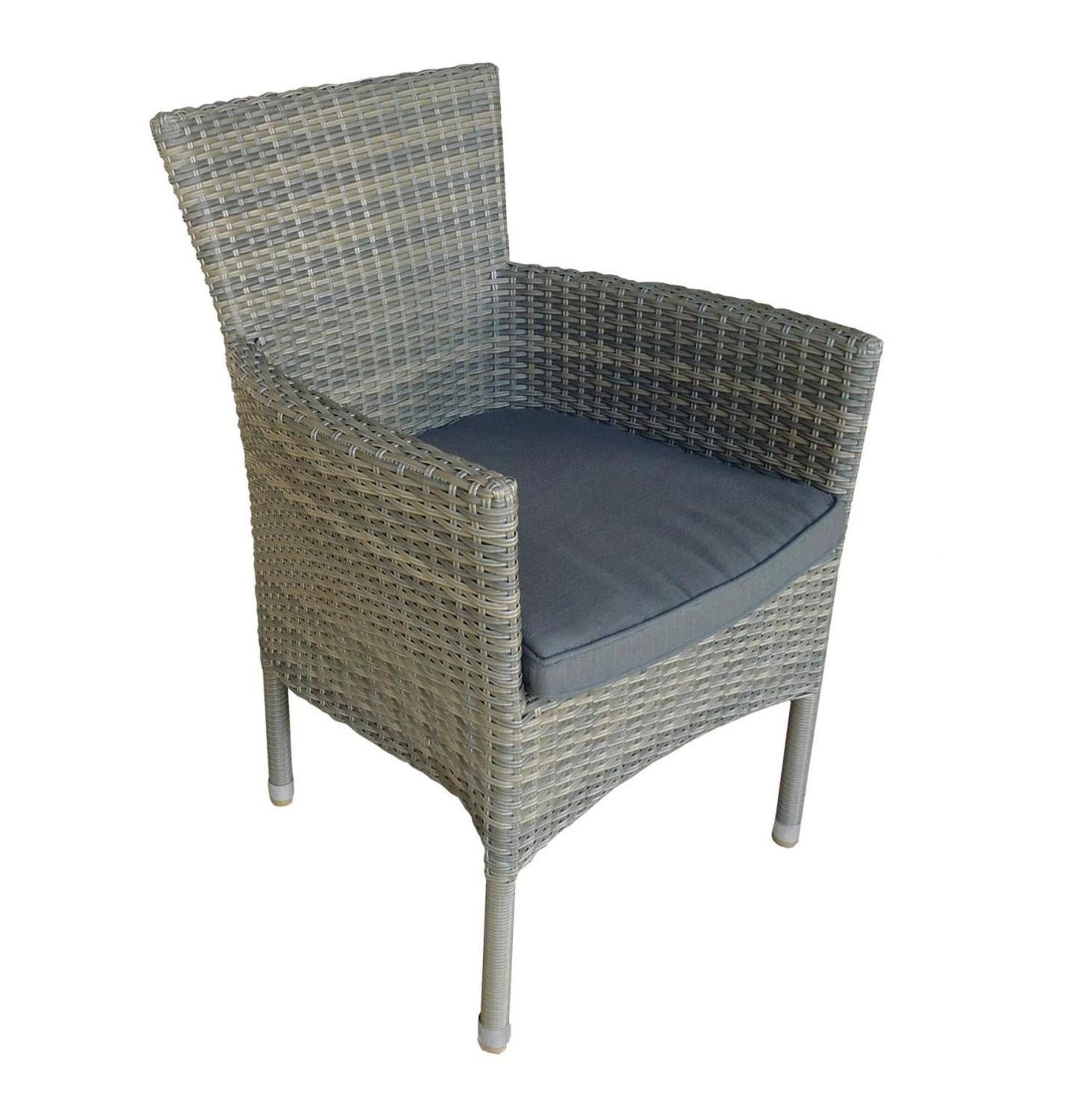Terrace leisure provence stacking dining chair kobo grey lowest prices specials online makro