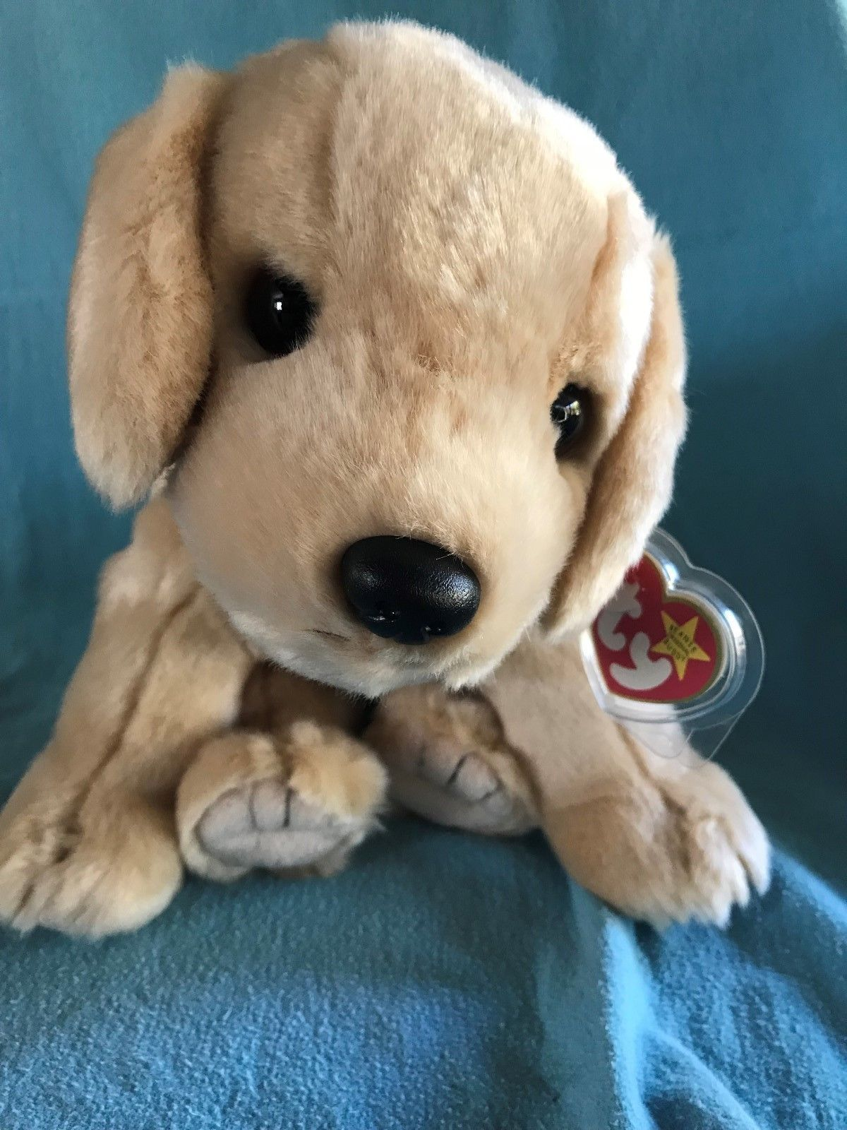 8bfd5831ca6 Mint! Ty Beanie Buddy Fetch the Golden Retriever MWMT Large Plush ...